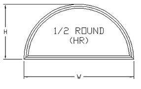 1/2 Round-path-drawing