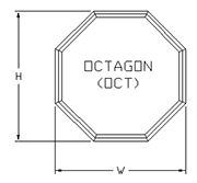 Octagon-path-drawing
