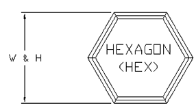 Hexagon-path-drawing