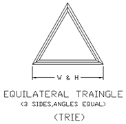 Triangle-path-drawing